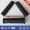 Molded rubber handle for tool