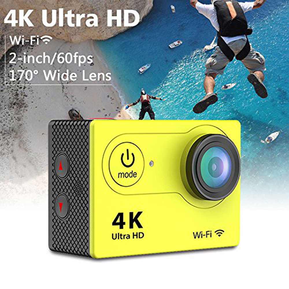 12MP 1080P HD 4K 2 Inch Screen 30M Waterproof WiFi Remote Sports Digital Video Camera DV