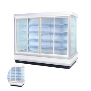 Commercial Open Refrigerated Food Display Fridge