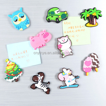Custom 3d fridge magnet pvc rubber souvenir fridge magnet resin fridge magnet