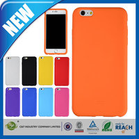 C&T Top grade sublimation rubber soft silicone case for iphone 6 plus
