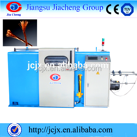 copper wire twisting stranding bunching machine