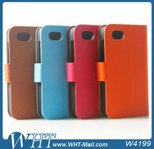 New Arrival Luxury Leather Case for Blackberry Q5 wallet leather case