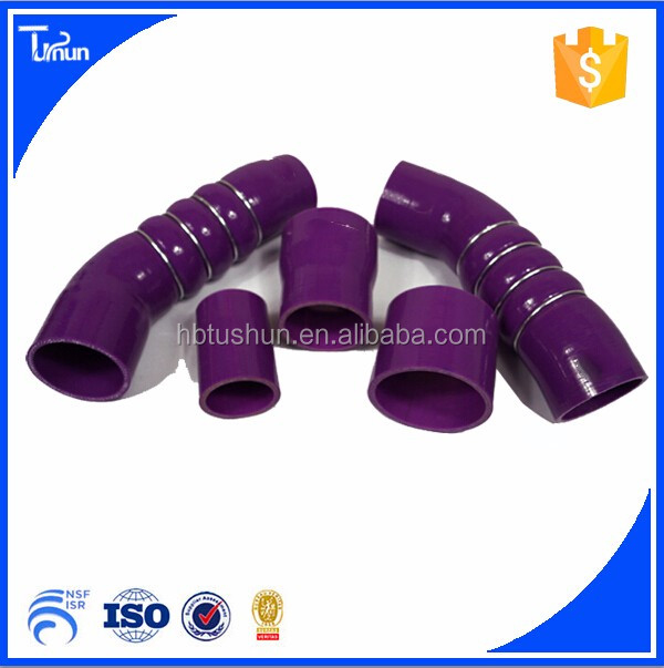Clear radiator hose high temperature silicone hose