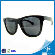 2015 Fashion Customized Design Good Price Bamboo Sunglasses Wholesale