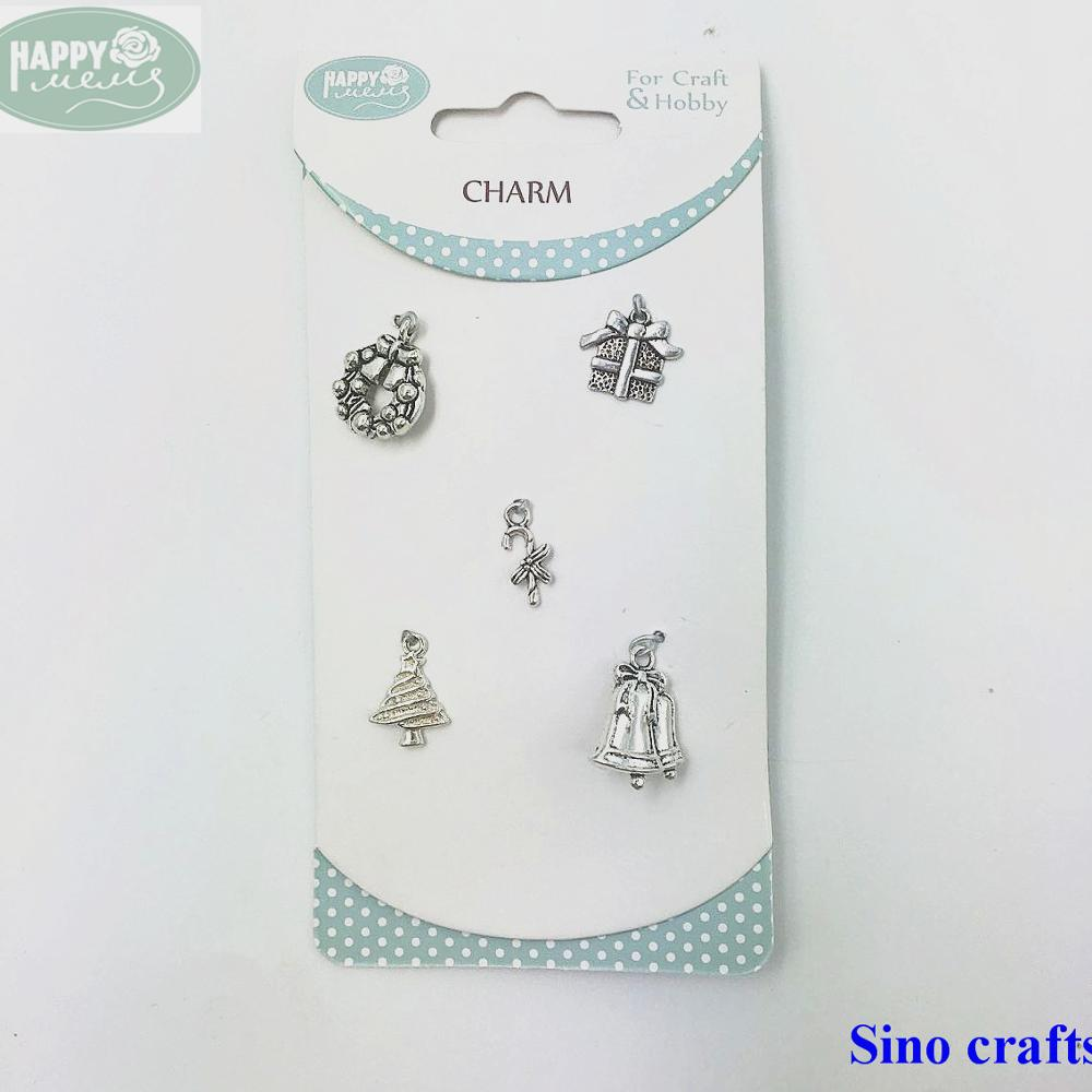 Vintage silver charm custom design metal silver pendants and charm wholesale