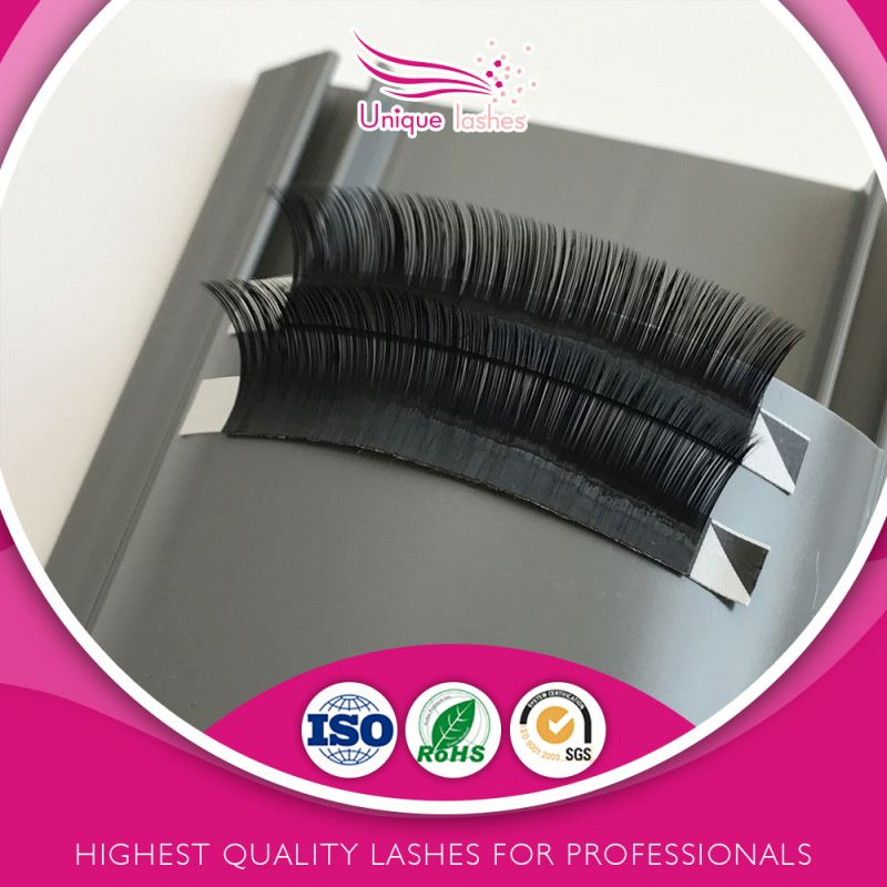 Super dense volume 100% real mink individual False lashes extensions