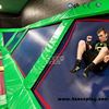 Indoor Trampoline Park With WALL RUNNING