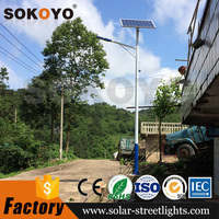 Factory price solar street lighting system solar light lamp lampadaire solaire