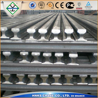 a65 Steel rail used for overhead crane or gantry crane travle