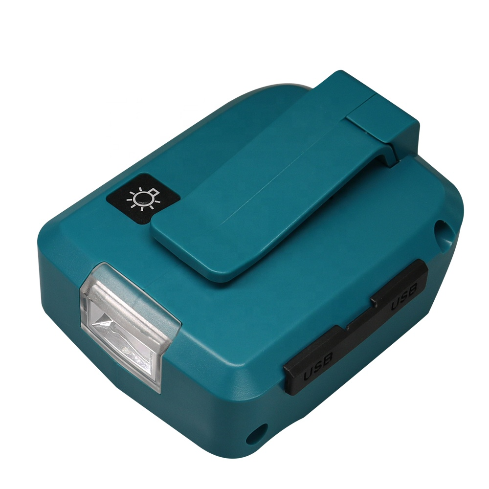 USB Power Charger Adapter Converter For Makita ADP05 18V 14.4V Li-ion Battery CA