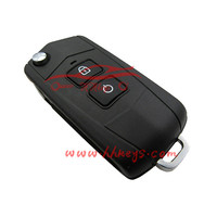 Factory direct Mazda Familia 323 2 buttons modified flip key shell Mazda smart key blank