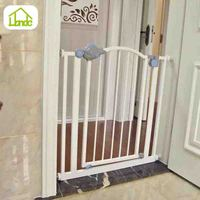 HONDE High quality extensible metal indoor pet dog gate