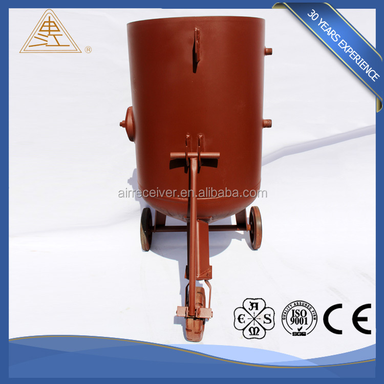 High Quality high efficency Sandblasting Machine / Sand blasting pot from china supplier