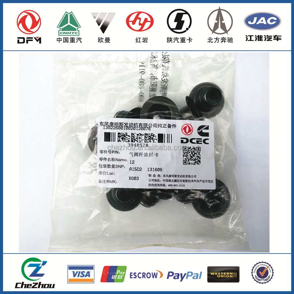 Diesel Engine Part Valve Stem Seal 3943889 3948578 for selling