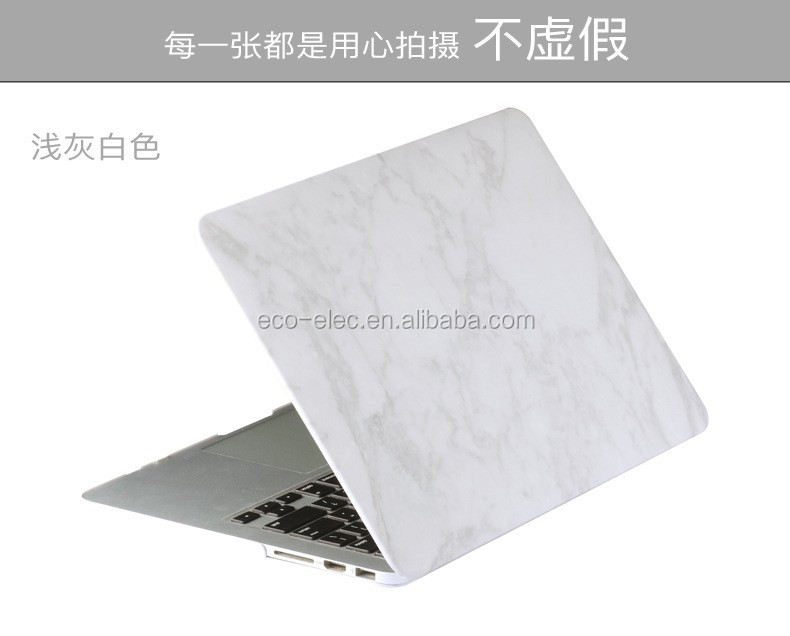 Marble Texture Display Case for Mac Air Pro Retina 11 12 13 15 laptop bag case for Mac Air 13 Case Pro 13 Retina 13 15 Case