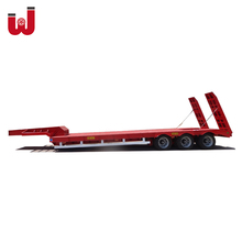 China Best Low Bed Semi Trailer Heavy Duty for Sale