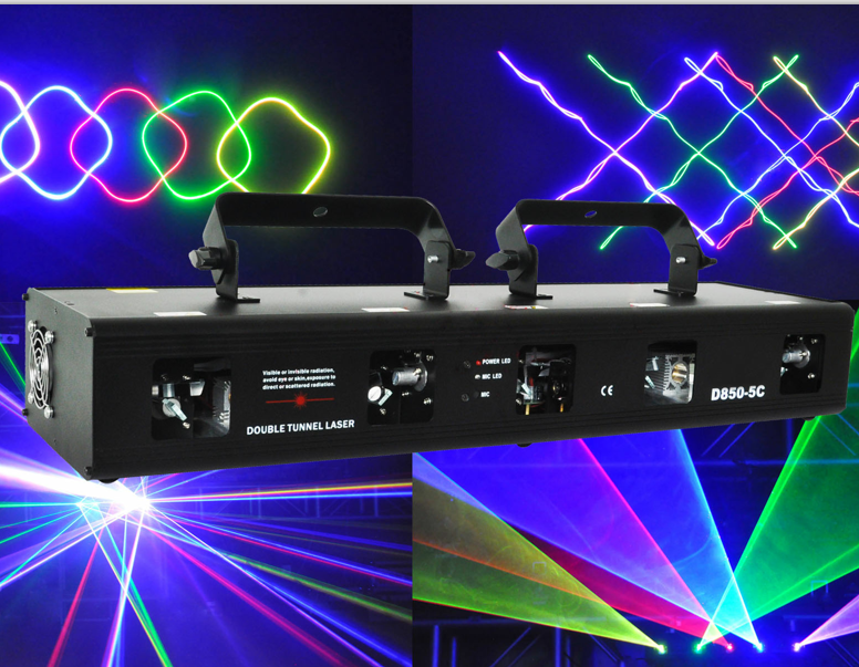 2017 Top selling RGBPY 5 head 5 lens beam <strong>laser</strong> light show system for dj disco nightclub