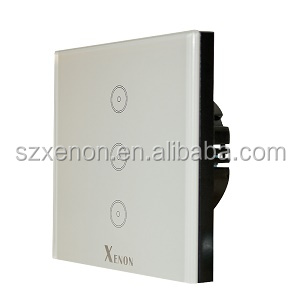 Xenon Z-wave Wi-Fi Button panel switch Wireless Smart home automation touch light intelligent