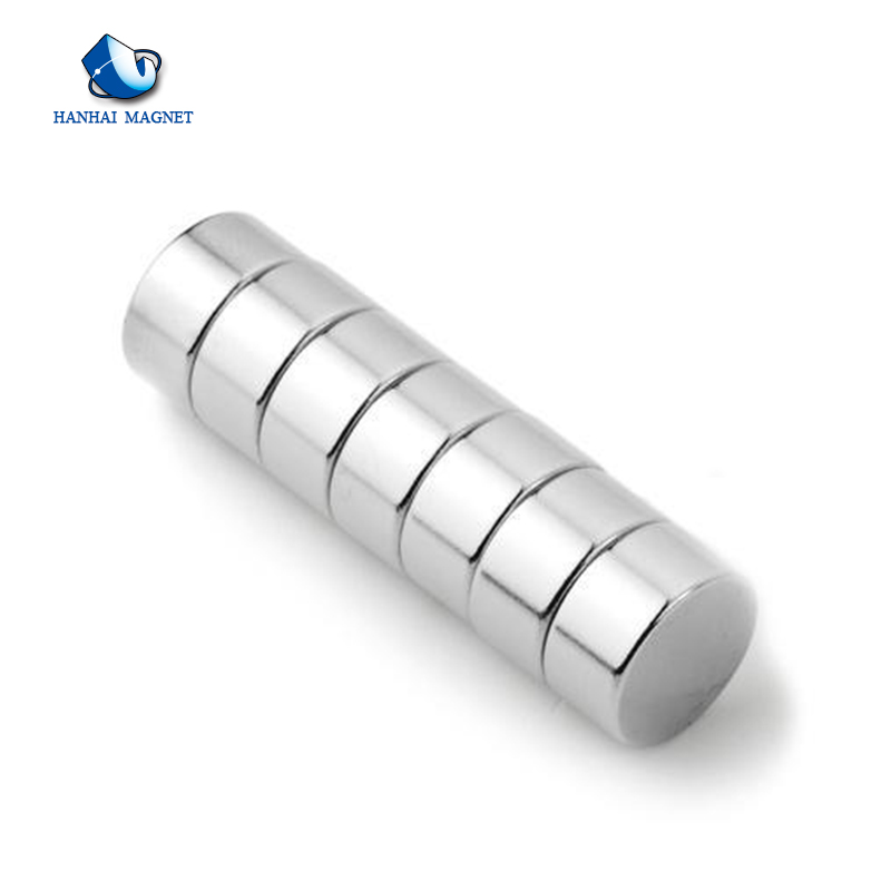 ISO certification N50 round industrial NdFeB magnet manufacturers china