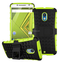 Classic waterproof case for Moto X play with kickstand