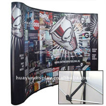 Custom Graphics Pop Up Trade Show Banner Backdrop