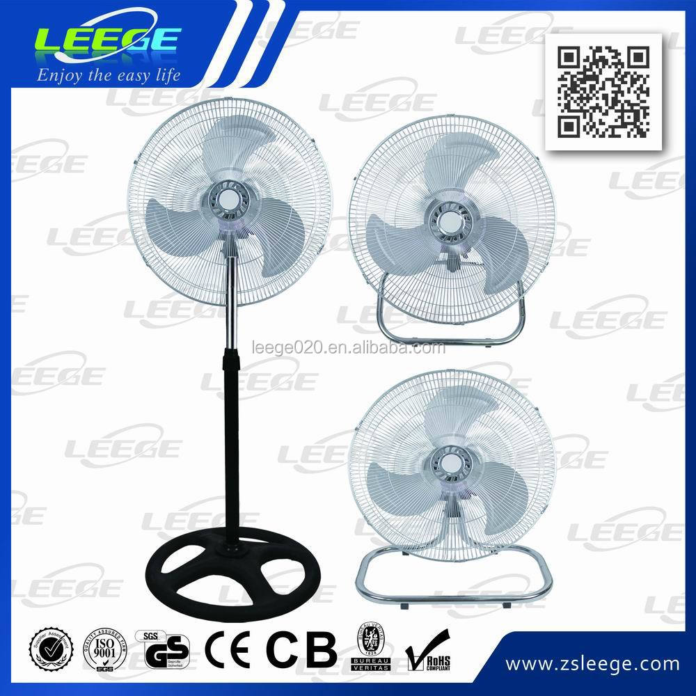 FS30-1 High velocity heavy duty silent big standing industrial fans