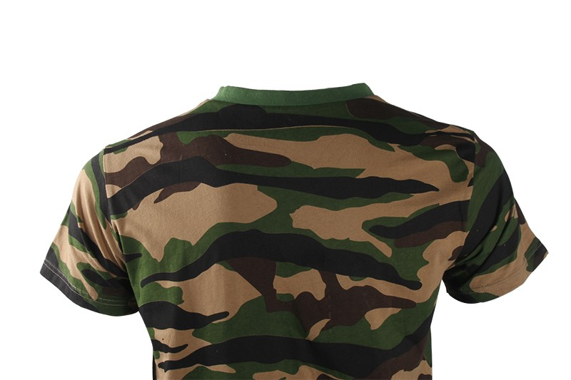 2017 Alibaba Trade Assurance Online Military Woodland Camouflage T Shirts