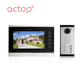 ACTOP 7inch apartment touch screen intercom system