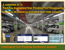 KEYTOP camera based Parking Guidance System with Car Finding Function