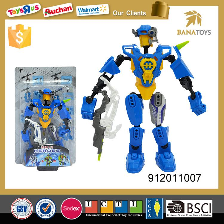 New products assembly deformation toys mini robot