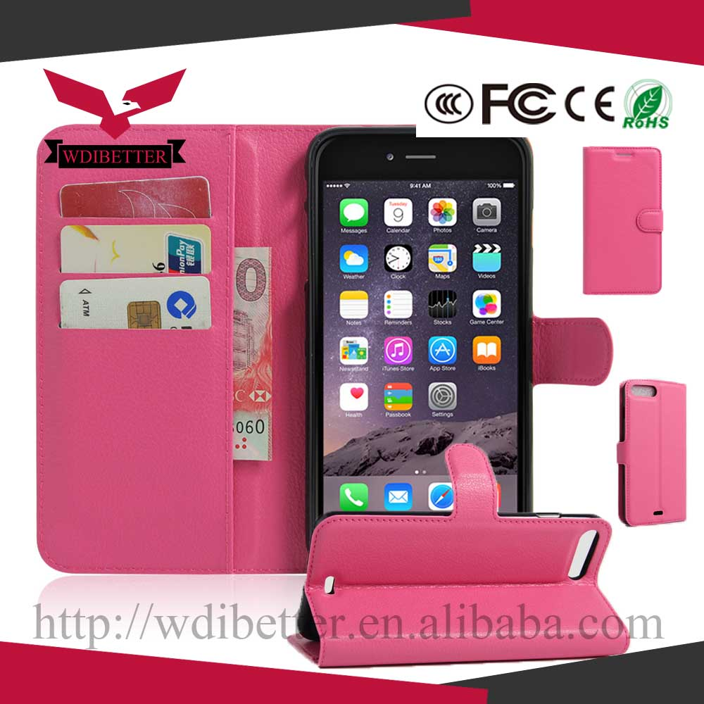 flip leather cell phone case for iphone 5 5c 6 6plus 7 7 plus