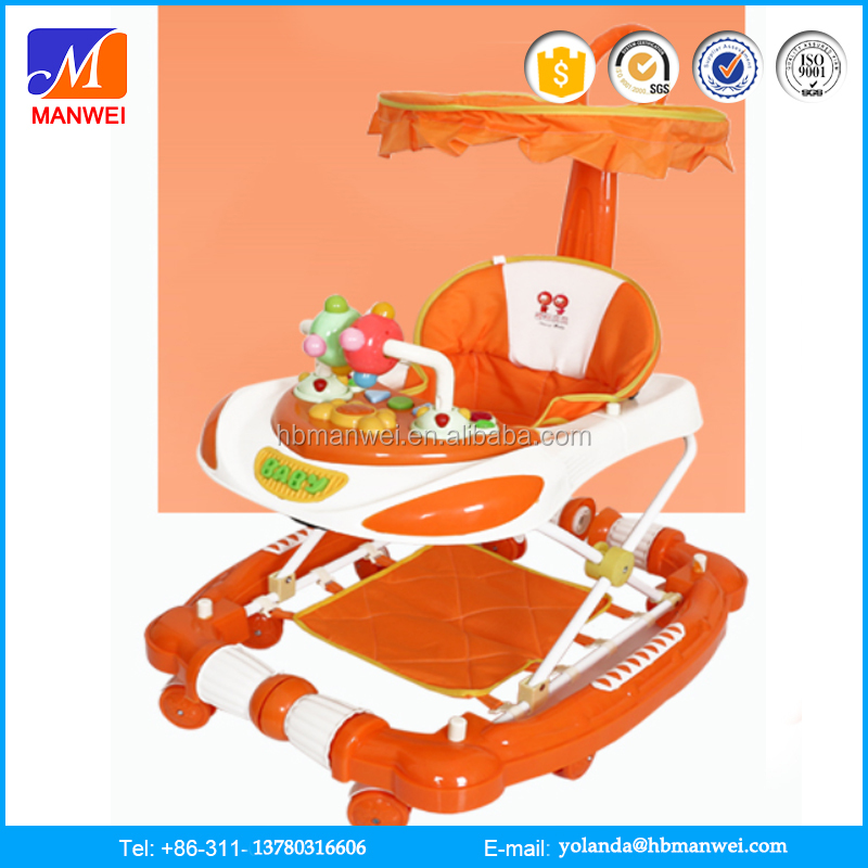 China Factory Customized Baby Vehicle Set Toy Plastic Baby Walker