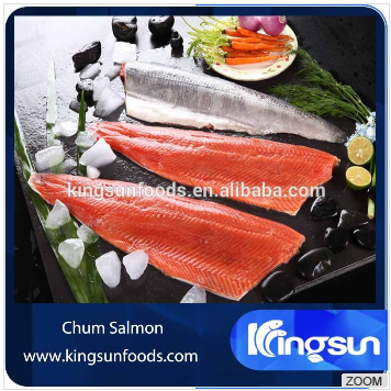 Fillets Wild Frozen Salmon Fish for Sale