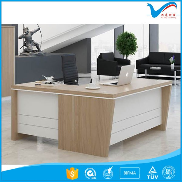 1.6m 1.8m 2m 2.4m manager office table design 521T01 MDF office furniture desk modern executive office desk