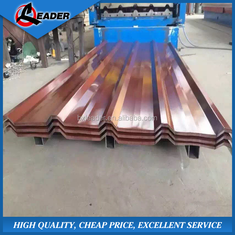 Steel structure building material color coating steel roofing