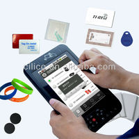 "Long distance Wireless 7"" Android tablet PC RFID and NFC reader and writer with phone call function 3G wifi"