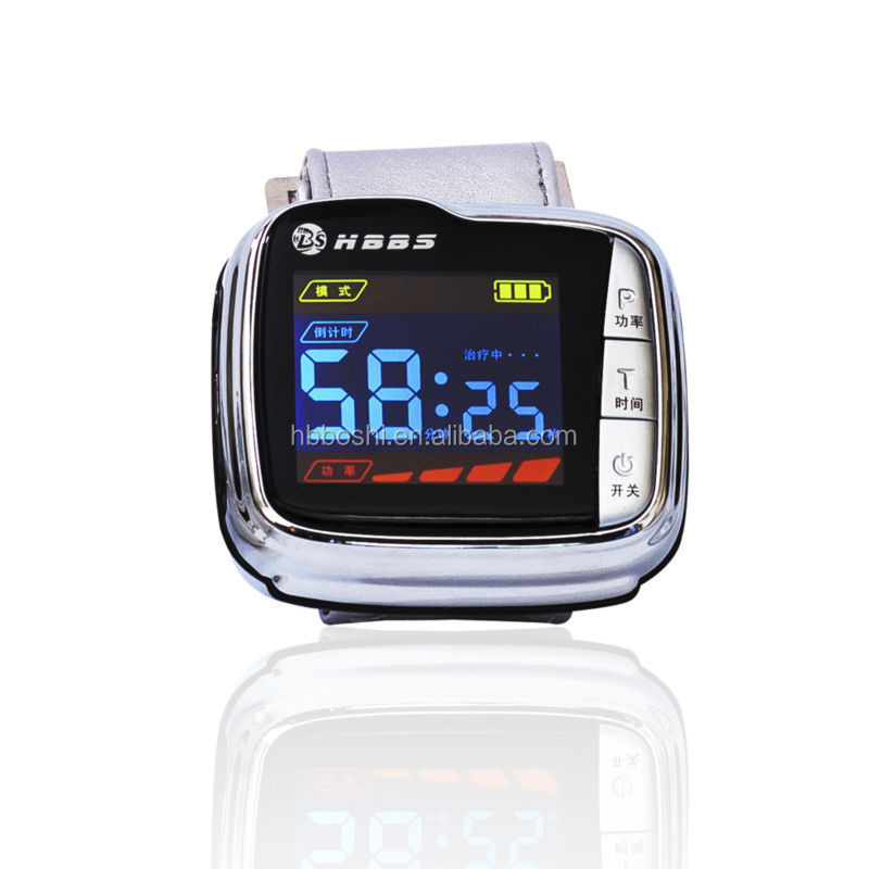 Low Level bio laser watch cold laser therapy for hypertension diabetics