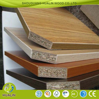 Hot sales 17mm Melamine particle board as furniture