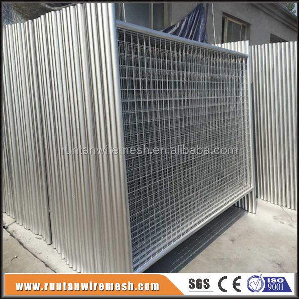 Runtan hot dipped galvanized removable iron fence