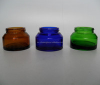 50g cosmetic various colorful cream glass jar medical glass jar