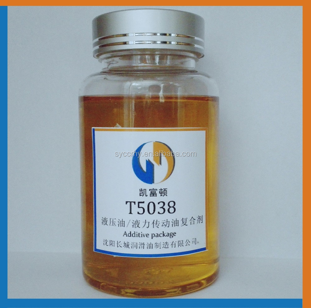 T5038 Hydraulic transmission /anti-wear Industrial lubricant oil additive package