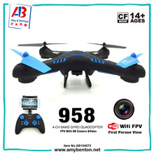 High Quality 2.4G Altitude Hold FPV Drone with Camera WIFI