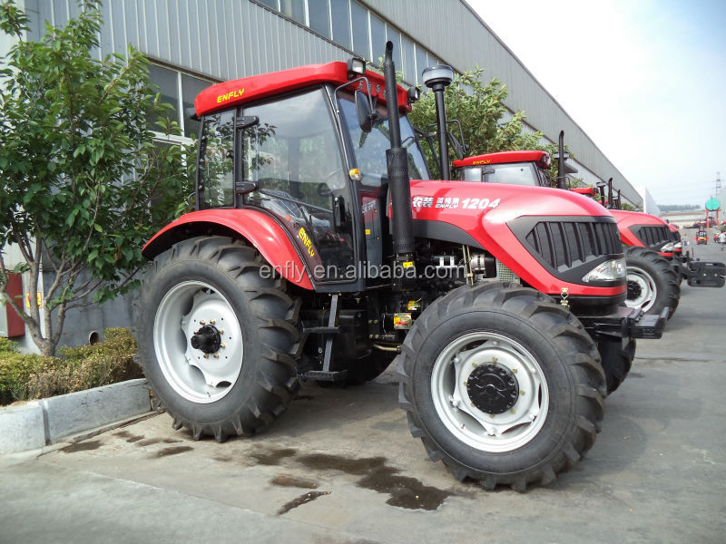 tractors DQ1204 120hp 4WD, farm tractor, wheel tractor, agricultural tractor