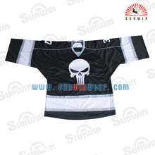 Ice hockey goalie wholesale custom hockey jerseys