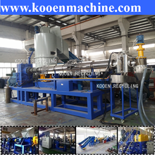 plastic film and bags recycling and extruding machine