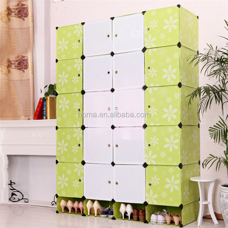 Portable simple cabinet design for clothes bedroom