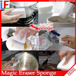 Kitchen Accessory Cleaning Product Magic Melamine Dish Washing Sponge for Kitchen Equipment Cleaning