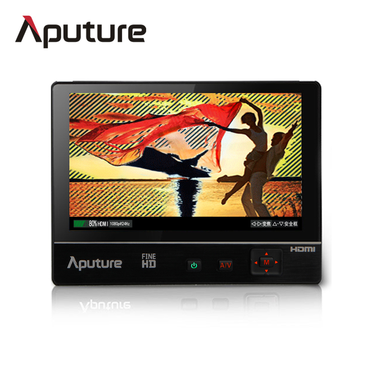 "Aputure VS-2 FineHD 7"" IPS LCD Field Monitor Peaking & Zebra Monitor Kit with Bag & Magic Arm"