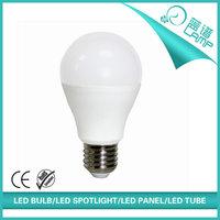 A60 9w led globe lamp e27 led light bulbs, led bulb, golf led bulb light